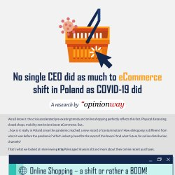 OpinionWay Polska - Impact of COVID19 on e-commerce in Poland - December 2020